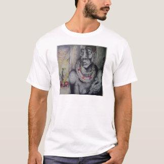 Grundläggande T-tröjamall av den kenyanska T-shirt