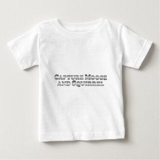 Grundläggande tillfångatagandeälg och ekorre - tröjor