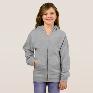 Grundläggande vinandeHoodie för flickor Tee Shirt