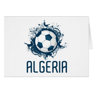 Grunge Algeriet Hälsningskort
