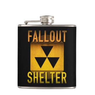 Grunge för atomålder för kärn- nedfallskydd Retro: Fickplunta