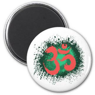 Grunge-OM Magnet Rund 5.7 Cm