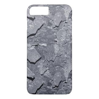 Grunge simulerat brutet hårdnar iphone case