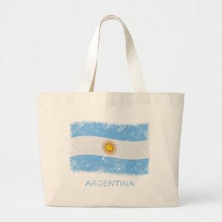 GrungeArgentina flagga Jumbo Tygkasse