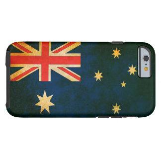 Grungeflagga av Australien Tough iPhone 6 Fodral
