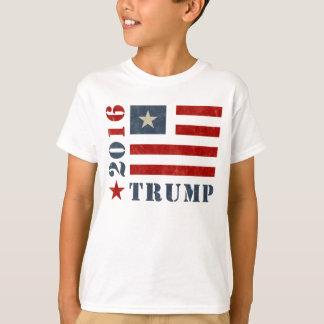 Grungeflaggatrumf T-shirts