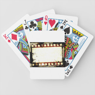 Grungenegationen filmar remsan spelkort
