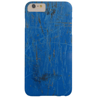Grungy blått, skrapat upp iphone case barely there iPhone 6 plus skal