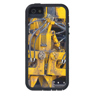Grungy closeup av maskindelar iPhone 5 Case-Mate cases