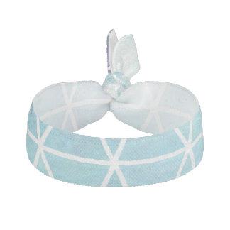 Grungy geometrisk triangeldesign för blått hårband