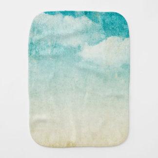 Grungy himmel fördunklar lantliga vintageblå himme bebistrasa