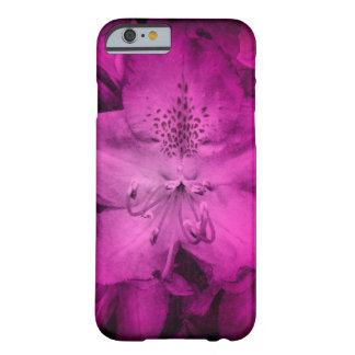 Grungy rosa Azalea Barely There iPhone 6 Skal