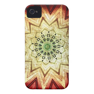 Grungy Southwestern mönster iPhone 4 Cover