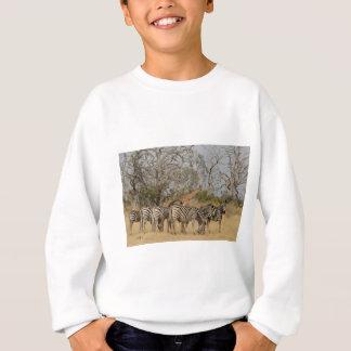 Grupp av zebror och giraffet TomWurl.jpg T Shirts