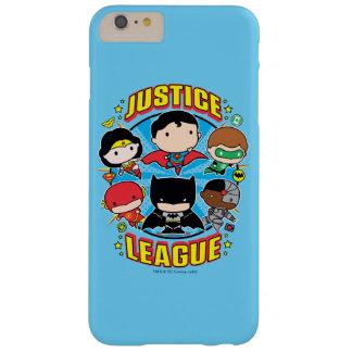 Grupp för Chibi rättvisaliga Barely There iPhone 6 Plus Fodral