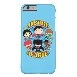 Grupp för Chibi rättvisaliga Barely There iPhone 6 Skal