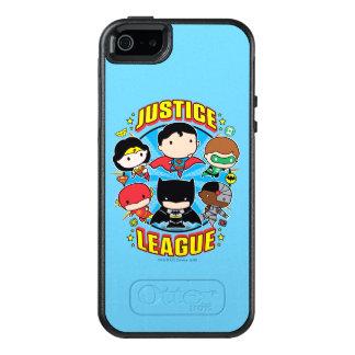 Grupp för Chibi rättvisaliga OtterBox iPhone 5/5s/SE Skal
