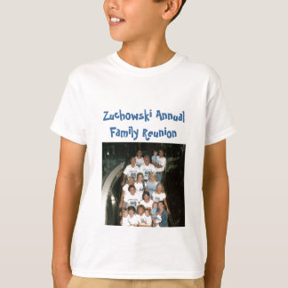 grupp - kryssning, Zuchowski årligt familjmöte Tee Shirt