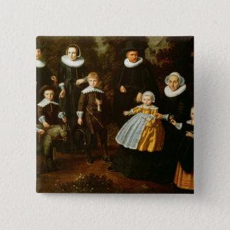 Gruppporträtt av tre generationer av a standard kanpp fyrkantig 5.1 cm