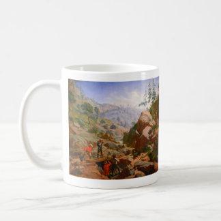 Gruvarbetare i Sierrorna - 1851/1852 Kaffemugg