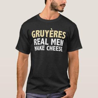 Gruyeres gör den verkliga manar ost roliga tröja
