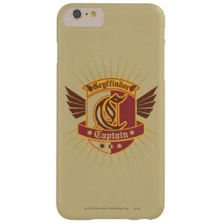 Gryffindor Quidditch kaptenEmblem Barely There iPhone 6 Plus Fodral