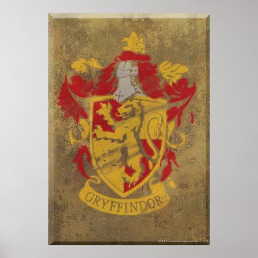 Gryffindor vapensköld HPE6 Posters