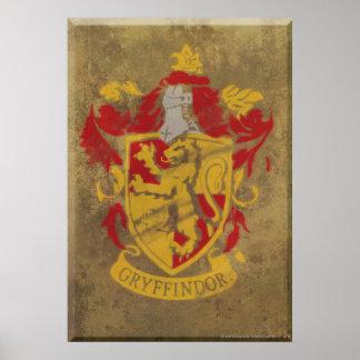 Gryffindor vapensköld HPE6 Poster