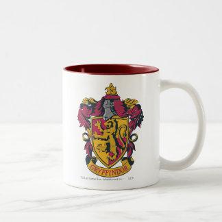 Gryffindor vapensköld Två-Tonad mugg