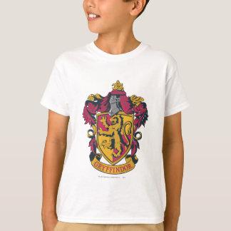 Gryffindor vapensköldguld och rött tee shirt