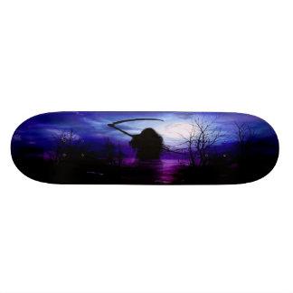 Grym Reaperfantasinatt Skateboard Bräda 19,5 Cm