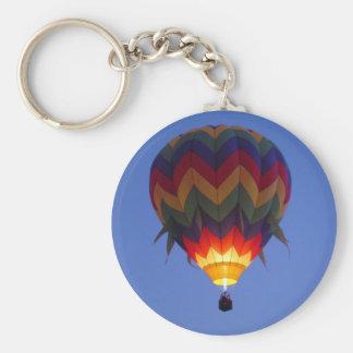 Gryningballongflyg Rund Nyckelring