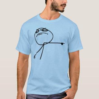 GTFO får ut tecknaden Meme för grabbursinneansikte Tshirts