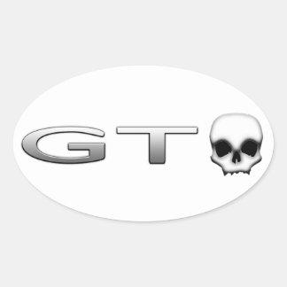 GTO OVALT KLISTERMÄRKE