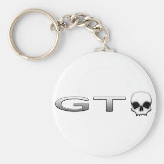GTO RUND NYCKELRING