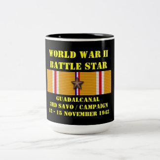 Guadalcanal (tredje Savo) kampanj Två-Tonad Mugg