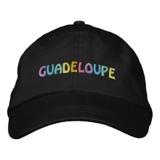 GUADELOUPE lock Broderad Keps