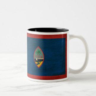 Guam flaggamugg Två-Tonad mugg