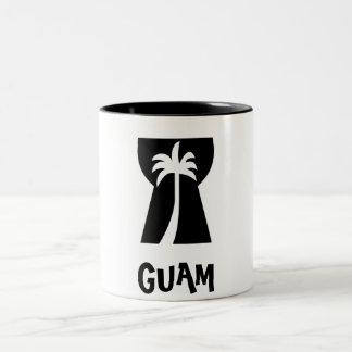 Guam Latte stenMUGG Två-Tonad Mugg