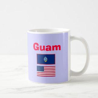 Guam* sätta en klocka på GU kaffemuggen Kaffemugg