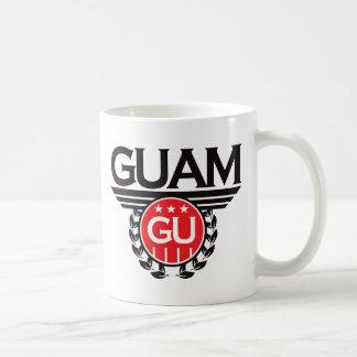Guam vapenskölddesign kaffemugg