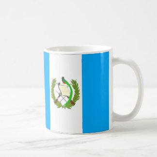 Guatemala flagga kaffemugg