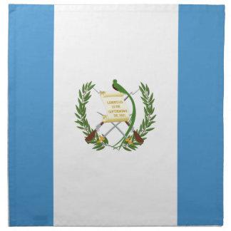 Guatemala flagga tygservett