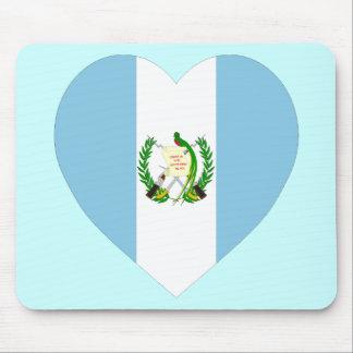 Guatemala flaggahjärta musmatta