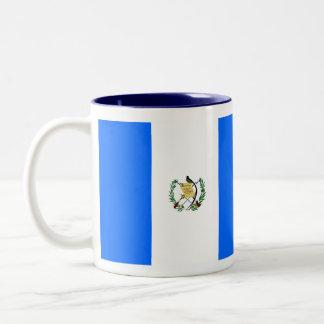 Guatemala flaggamugg Två-Tonad mugg