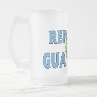 Guatemala frostad mugg