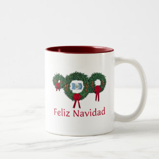 Guatemala jul 2 Två-Tonad mugg