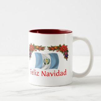 Guatemala jul Två-Tonad mugg