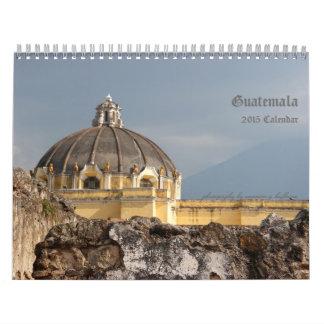 Guatemala reser fotografi kalender