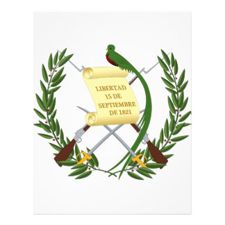Guatemala vapensköld brevhuvud